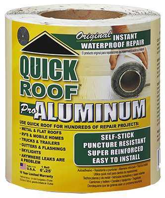 Cofair Products QR625 6' X 25' Aluminium Quick Roof Tape