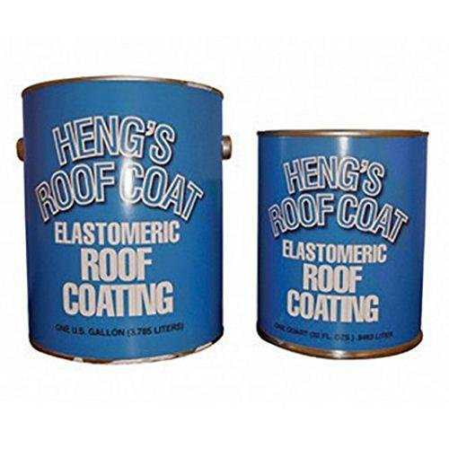Heng's 47032 32 oz White Elastomeric Roof Coating