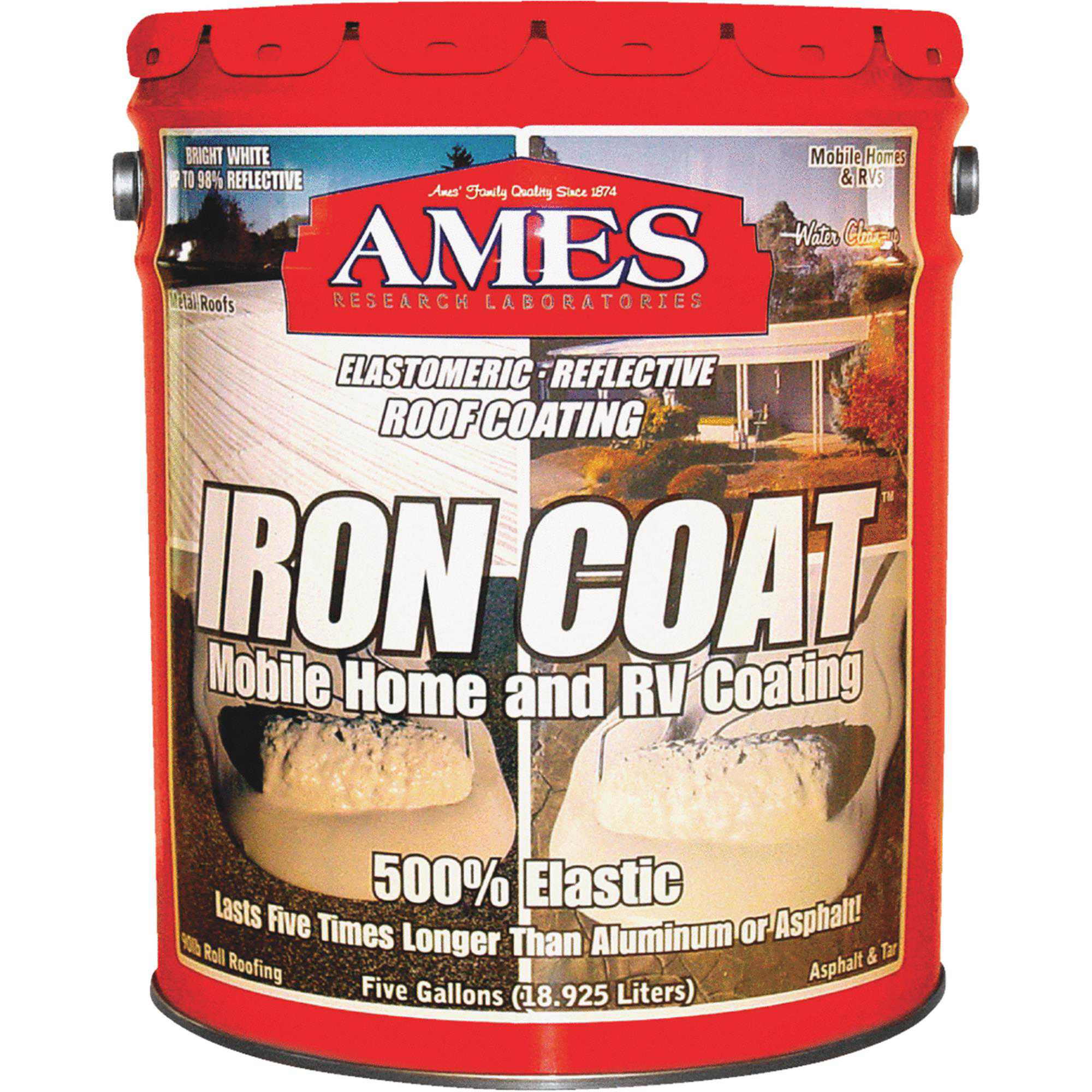 Ames Iron Coat Elastomeric Roof Coating