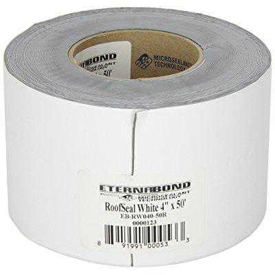 eternabond rsw-4-50 roofseal sealant tape, white - 4 x 50'