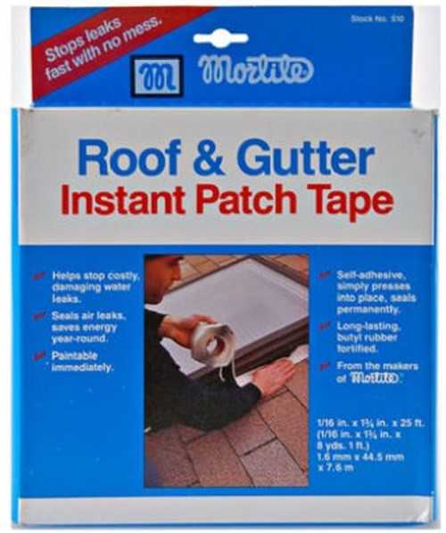 Thermwell Products 510 Roof & Gutter Instant Patch Tape