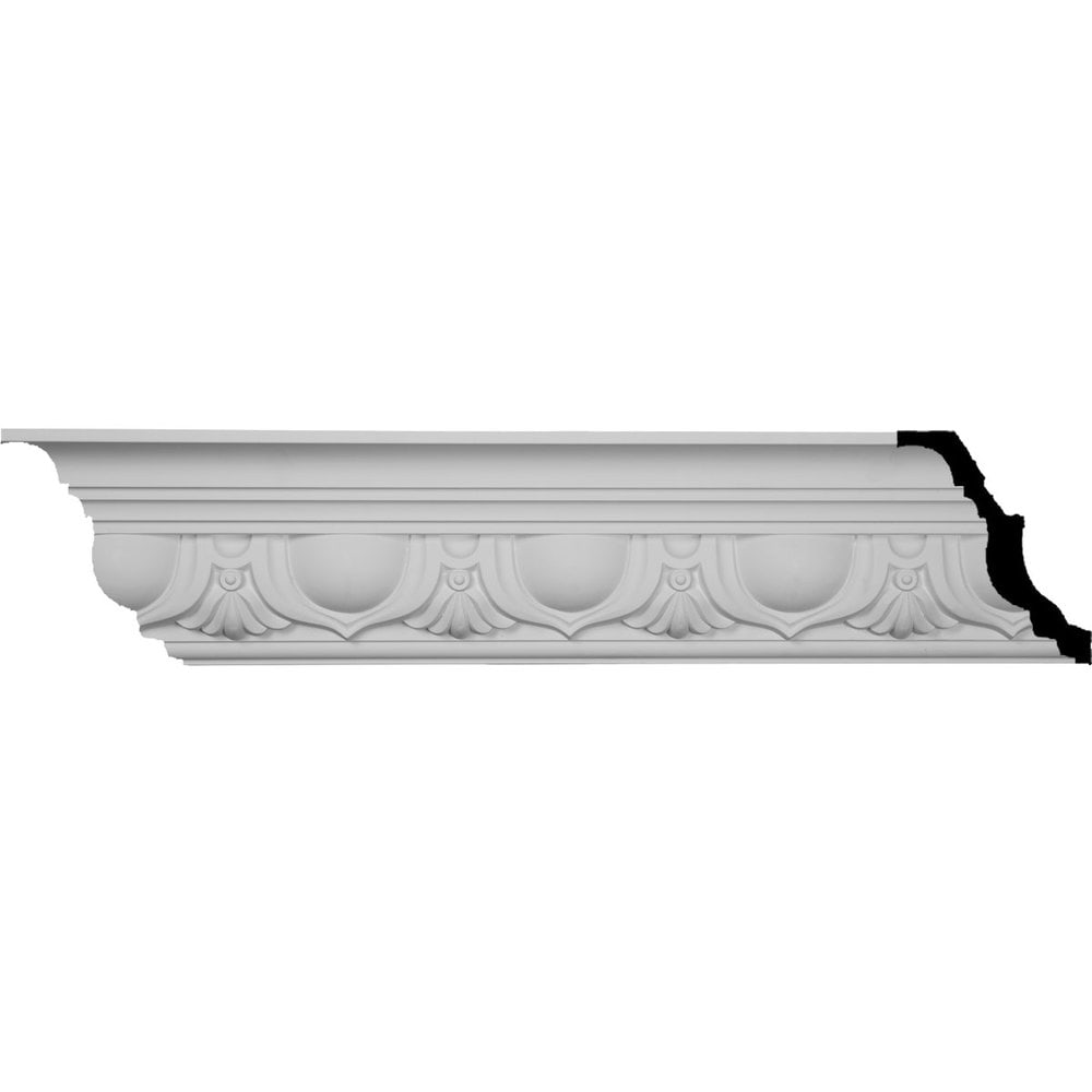 Ekena Millwork Polyurethane Crown Moldings/Artis Crown Molding 6' Repeat / 5 5/8'H x 5 1/4'P x 7 5/8'F x 96'