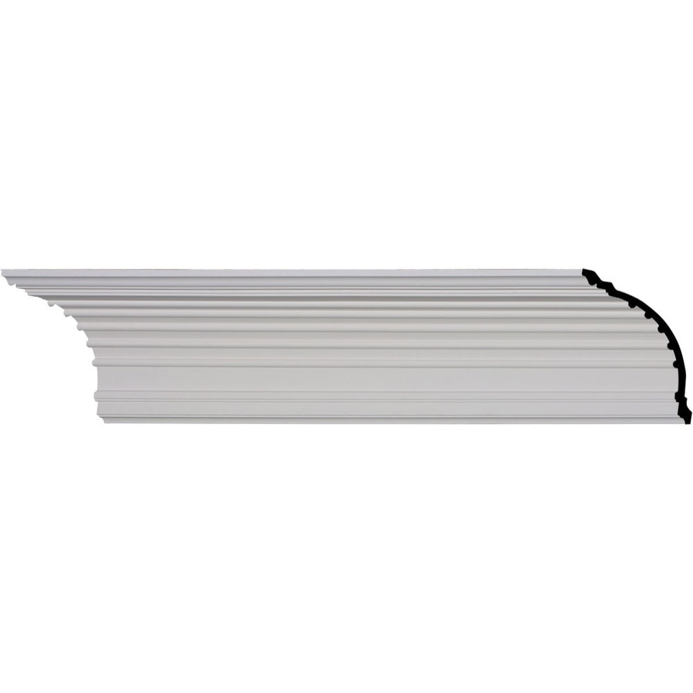 Ekena Millwork Polyurethane Crown Moldings/Foster Cove Crown Molding / 6 1/4'H x 6 1/2'P x 9'F x 95 7/8'