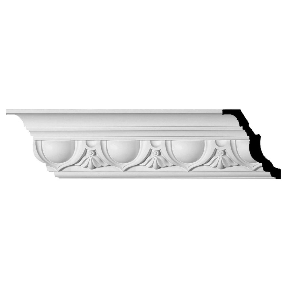 Ekena Millwork Polyurethane Crown Moldings/Artis Crown Molding 7 3/8' Repeat / 7 3/8'H x 6 1/8'P x 9 5/8'F x 96 '