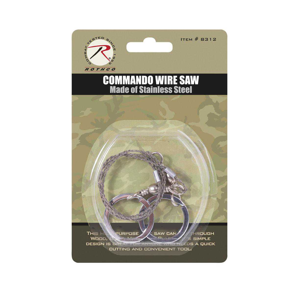 Rothco Camping/Survival Commando Wire Saw